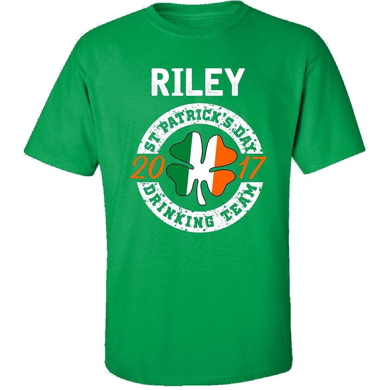 Riley St Patricks Day 2017 Drinking Team Irish - Adult Shirt