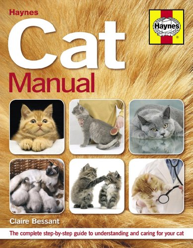 Haynes Cat Manual: The Complete Step-By-Step Guide to Understanding and Caring for Your Cat. Claire Bessant