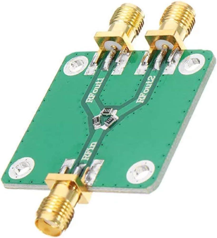 BIYI HF-Mikrowellenwiderstand Leistungsverteilermodul Splitter Hochfrequenzteiler Gr/ün