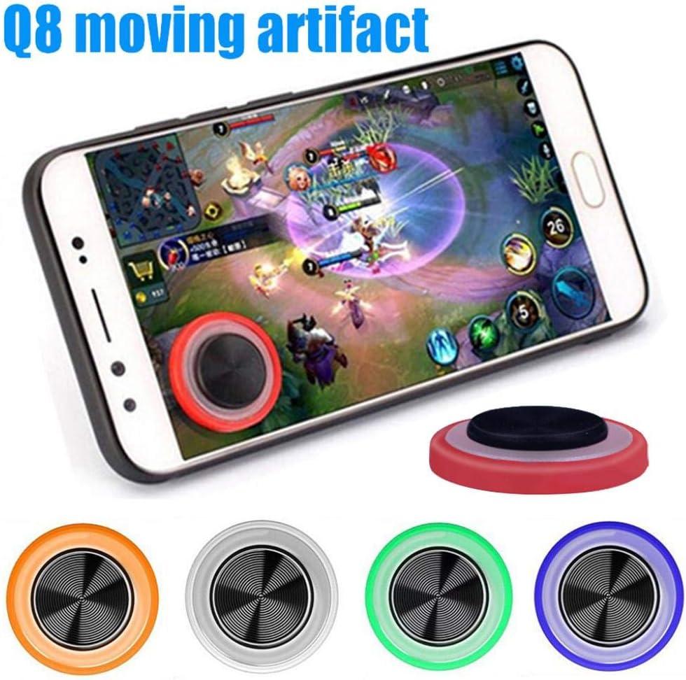 Q8 Mini Mobile Phone Tablet Game Sucker Joystick Touch Screen Controller Joypad White