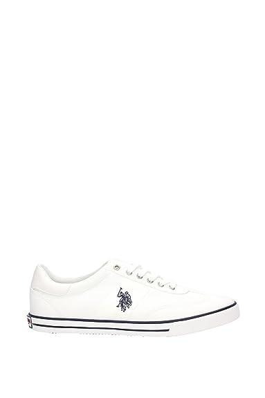 US Polo Association, Herren Sneaker, Weiß Blanco Größe