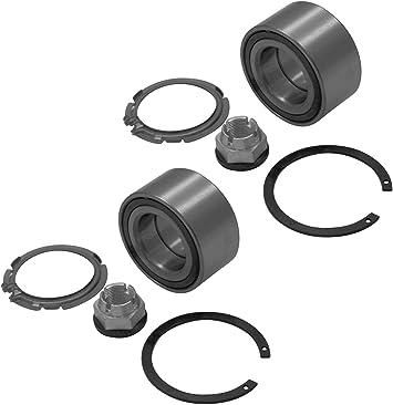 2x Radlager Satz Mit Abs Vorne Vorderachse Mit Integriertem Magnetischen Sensorring Auto