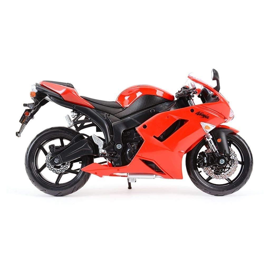 YaPin Model Car Aleación de Motos Modelo Ninja ZX-6R ...