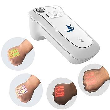 HMILYDYK Portable Vein Finder Handheld Infrared Vein Viewer Detector Vein Illumination Hospital Injection Vein Locator Clinic