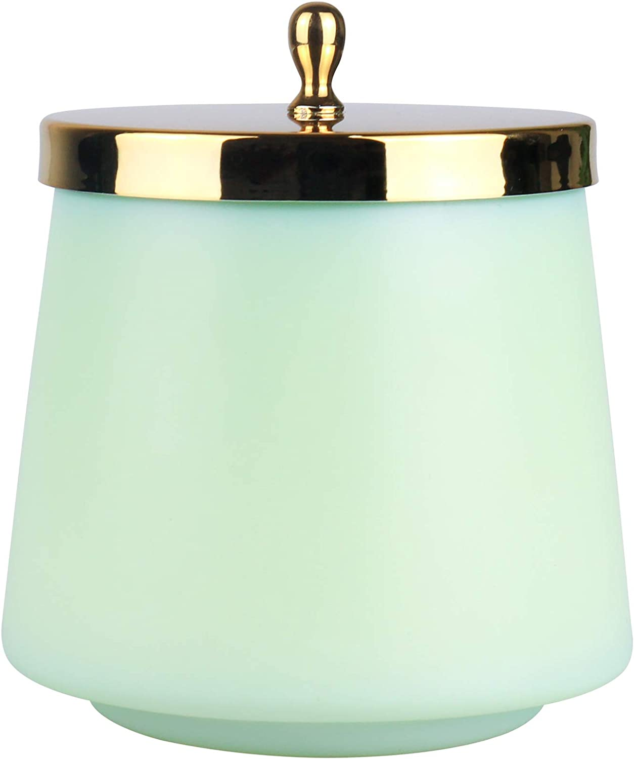 LA JOLIE MUSE Scented Candle Bergamot Mineral, Natural Wax Summer Candle for Home Scented, 75 Hours Long Burning for Relaxation, Oval Glass Jar, 12.3Oz