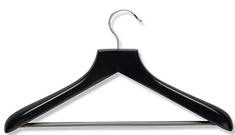 Amazon.com: Honey-Can-Do hngz01524 Madera Amplia hombro Suit ...