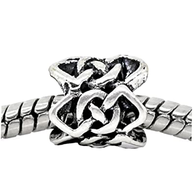 Amazon Celtic Knot Braided Crochet Pattern Spacer Bead For