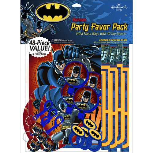 Hallmark 222575 Batman Heroes and Villains Party Favor Value