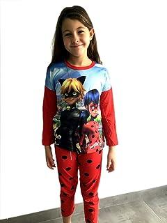 ccc17cdab MIRACULOUS Pijama Coral Ladybug 6 AÑOS Rojo  Amazon.es  Hogar