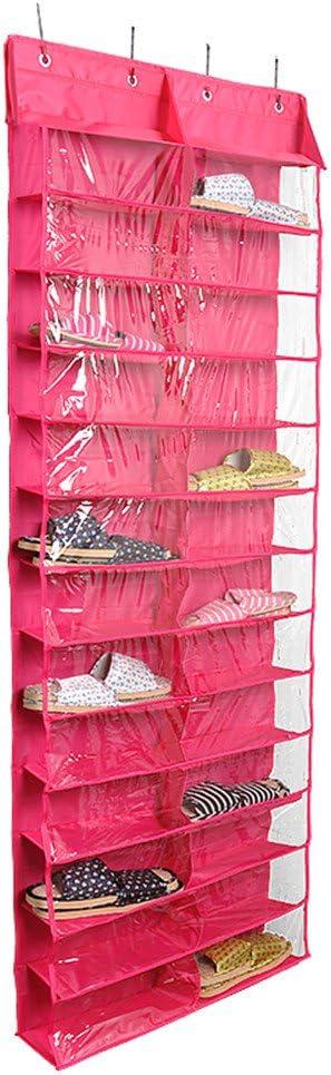 etc Con ganchos armario zapatos 26/bolsillos de almacenamiento para colgar sobre la puerta Zapatero para colgar Lalilei Para guardar juguetes