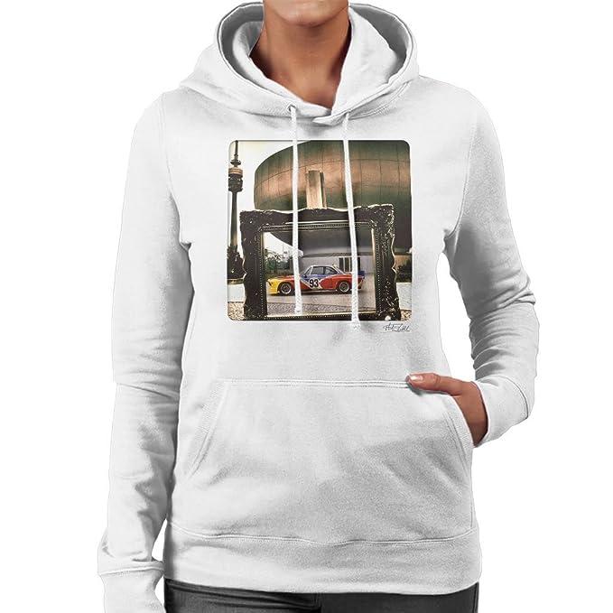 Martyn Goddard Official Photography - BMW Art Car Alexander Calder Womens Hooded Sweatshirt