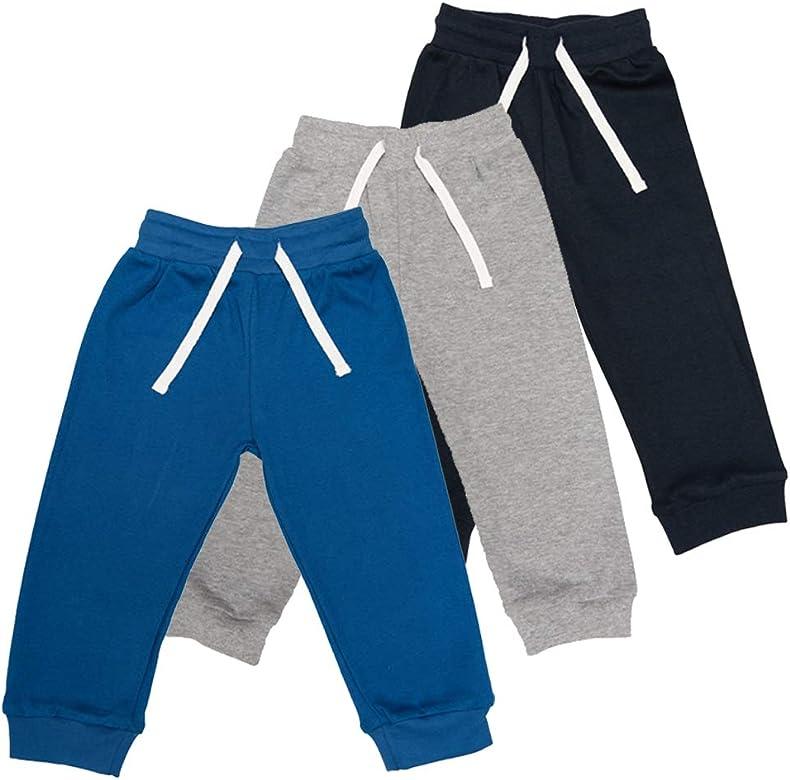 Lovjoy Pantalones Informales para bebés y niños y niñas / 100% algodón, Suaves y cómodos (3, 6-12 Meses): Amazon.es: Ropa y accesorios