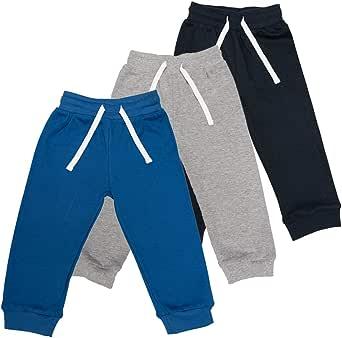 Lovjoy Pantalones Informales para bebés y niños y niñas / 100% algodón, Suaves y cómodos