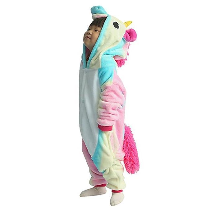 ropa de unicornio para niñas pijama albornoz