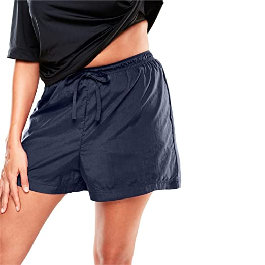 4f1d9bebe8db7 Image Unavailable. Image not available for. Color: Woman Within Plus Size  Taslon Swim Shorts ...