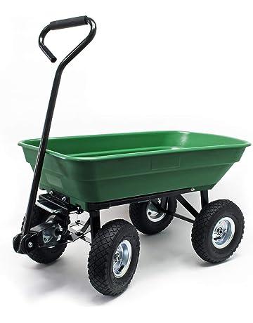 Carros y vagonetas para jardín | Amazon.es