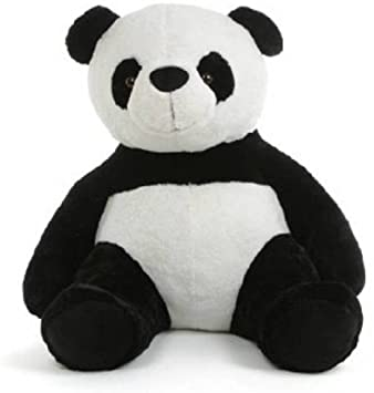 b9761c51b8c Buy AVS 2 Feet Stuffed Spongy Huggable Cute Sitting Panda Black  White  Color 60 cm Online at Low Prices in India - Amazon.in
