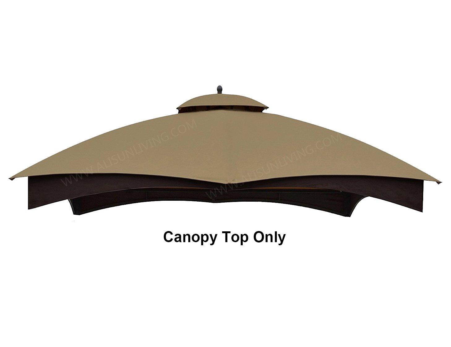 ALISUN Replacement Canopy Top for Lowe's 10' x 12' Gazebo #TPGAZ17-002C