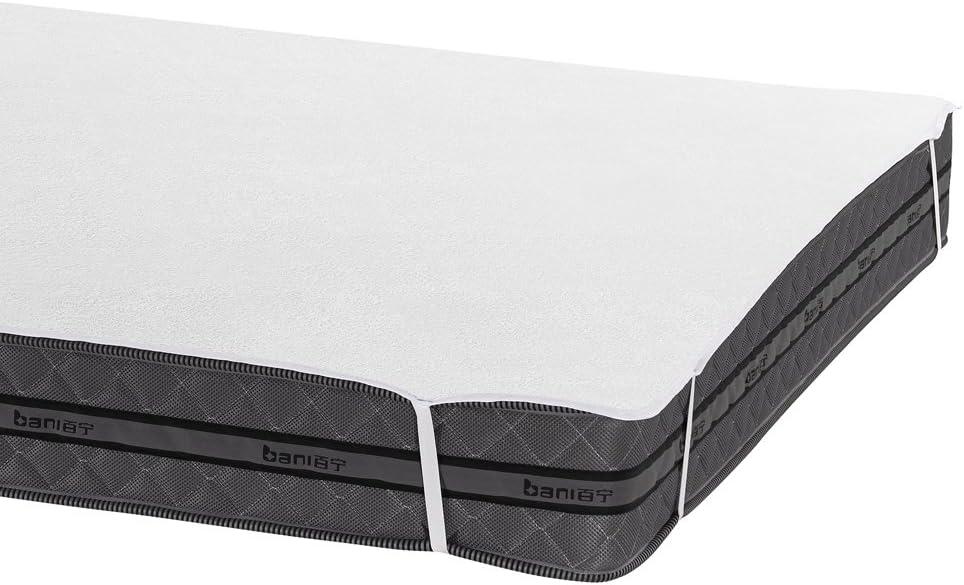 Bedecor Protector de colchón,100% algodón Impermeable,Transpirable 90 x 190/200 cm