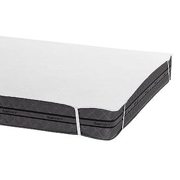 Bedecor Protector de colchón,100% algodón Impermeable,Transpirable 140 x 190/200 cm: Amazon.es: Hogar