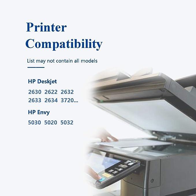 Caidi 304XL - Cartuchos de Tinta HP 304XL 304 para HP Deskjet 3720 ...