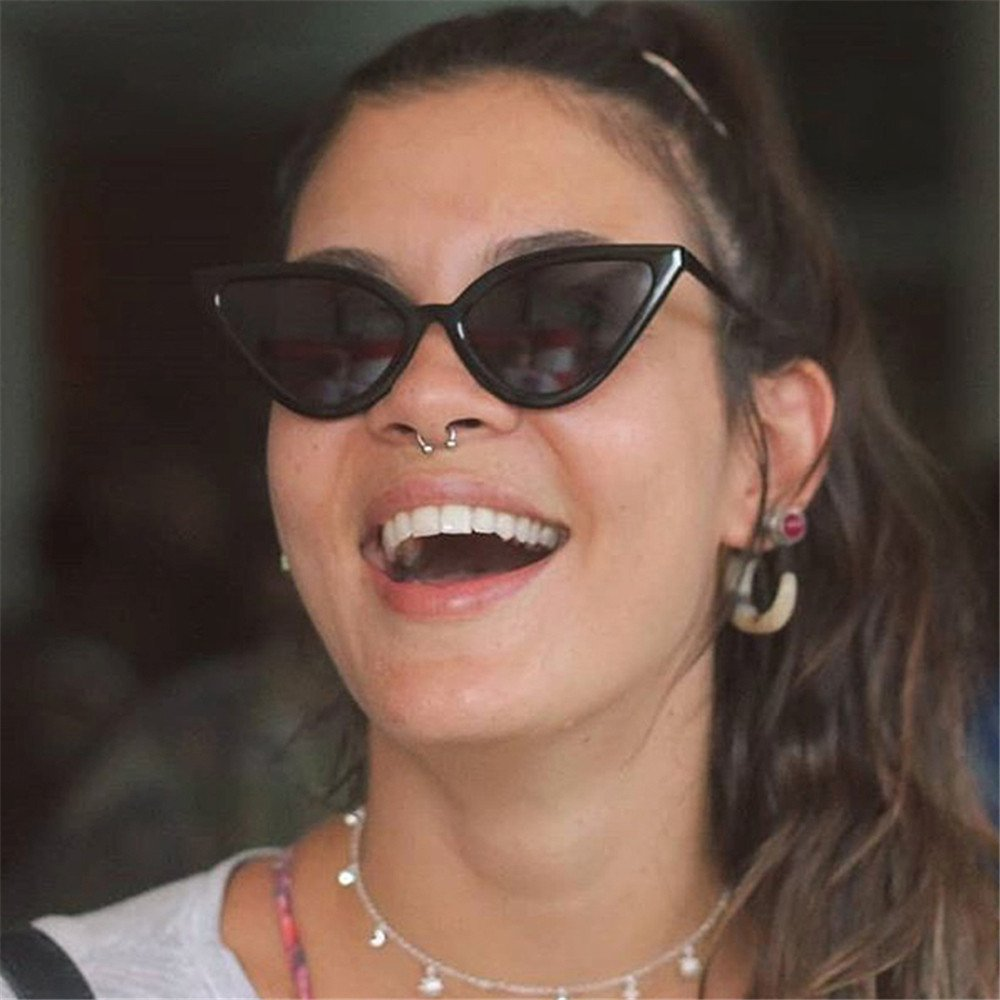 ASTV Women Fashion Cat Eye Shades Sunglasses UV Candy Colored Glasses