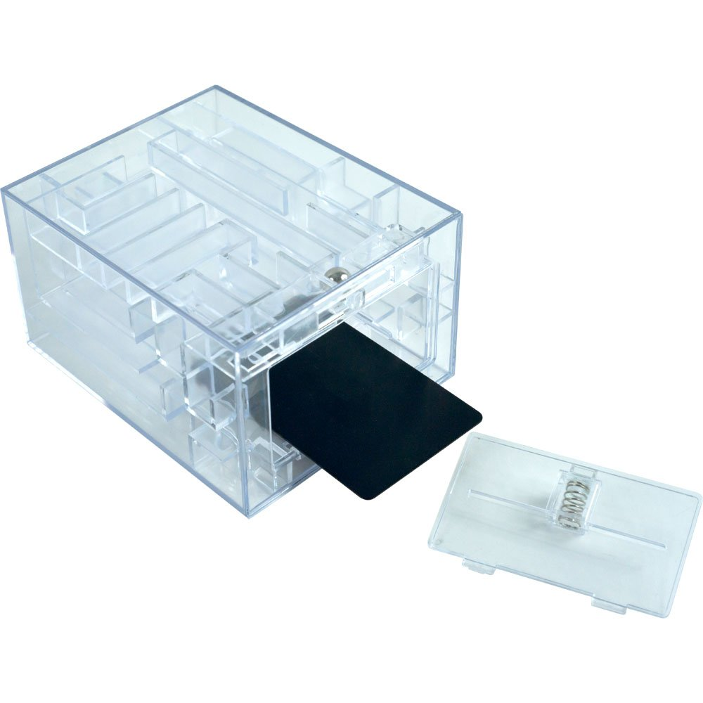 Trademark Games Maze Brainteaser Puzzle Unlocks Gift Card Compartment