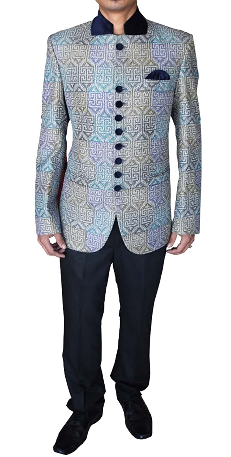 INMONARCH Mens Fashionable 3 pc Polyester Tuxedo Suit Ready to Ship TX0155R