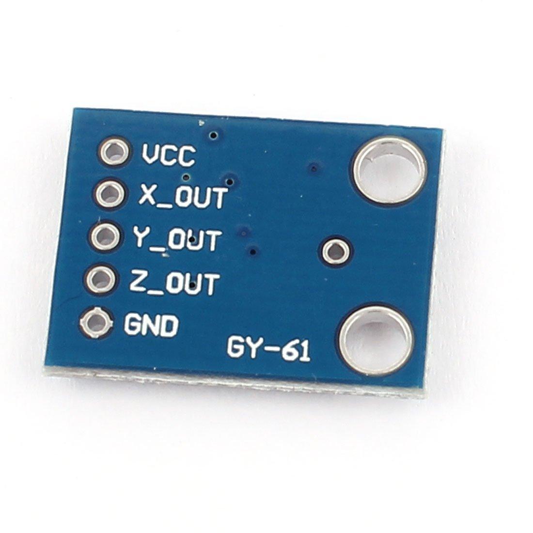 Salida eDealMax ADXL335 5-pin analógico acelerómetro módulo transductor Angular: Amazon.com: Industrial & Scientific