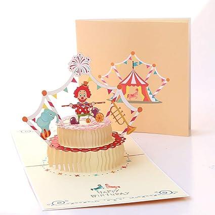 Tarjetas de felicitación de Alfie, tarjeta de cumpleaños 3D ...