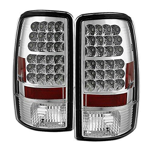 Spyder Auto ALT-YD-CD00-LED-C Chevy Suburban/Tahoe 1500/2500/GMC Yukon/Yukon XL/GMC Yukon Denali/Denali XL Chrome LED Tail Light