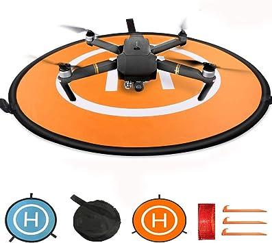 Opinión sobre KINGWON Drone Landing Pad Pista de Aterrizaje para dji Mavic Pro,Mavic Air Phantom 3 4 4 Pro,30