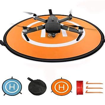 KINGWON Drone Landing Pad Pista de Aterrizaje para dji Mavic Pro ...