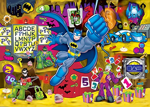 Buffalo Games - Build & Explore - Trouble in The Batcave - 24 Piece Kid's Jigsaw Puzzle Childrens Jigsaw Puzzle