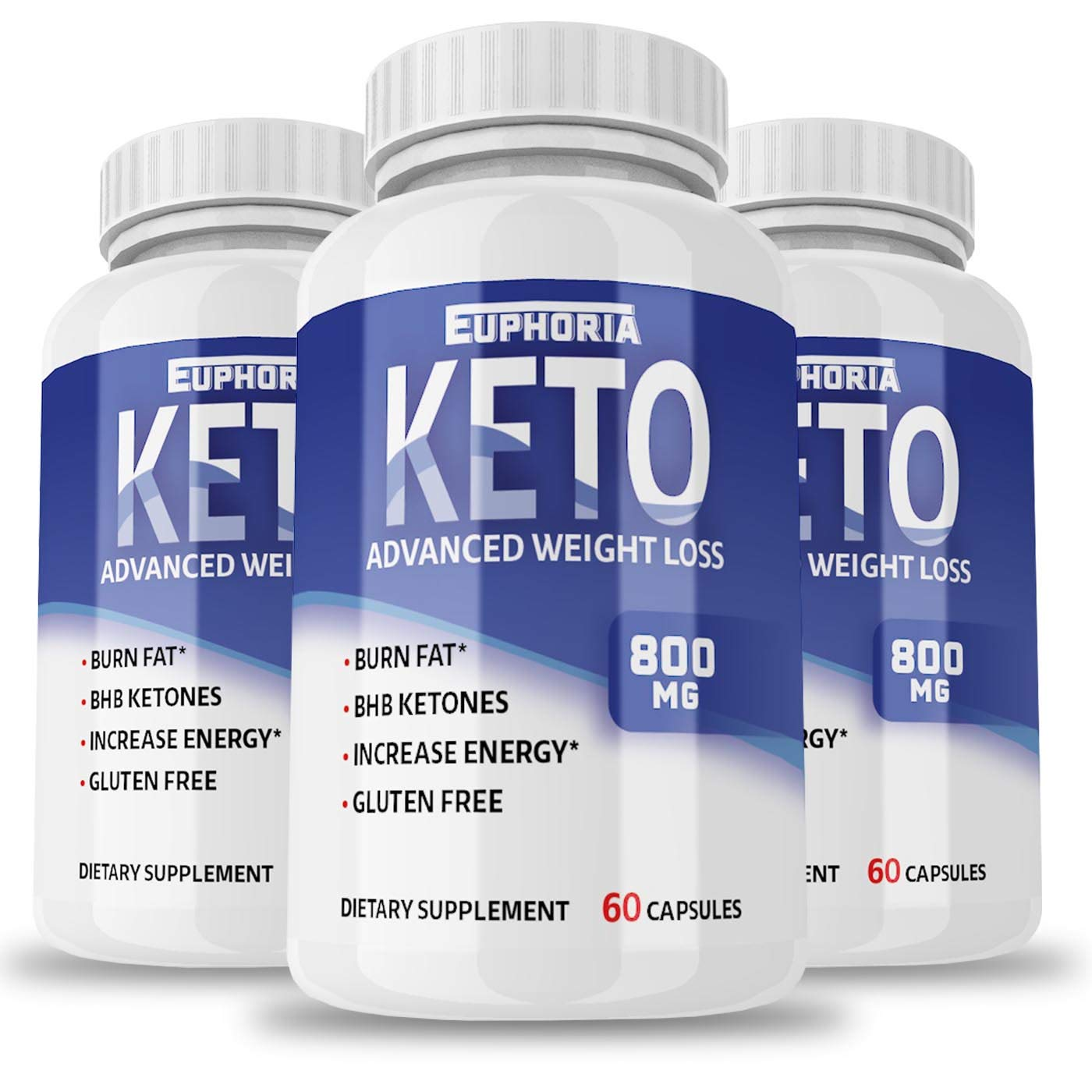 Keto Pills from Shark Tank - 3 Pack - Ketogenic Fat Burner - for Women & Men - Keto Capsules - Keto Diet - Weight Loss Supplements - May Help Burn Fat Fast - Carb Blocker - Best Keto Pills