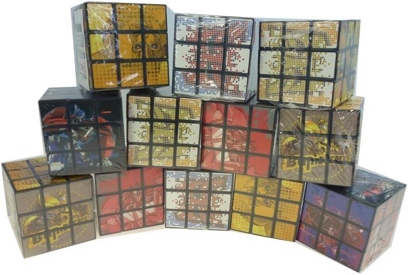 12 pieza Rubik Hasbro Transformers. El Juego clásico, dados de deriva, regalo, regalo, cumpleaños infantil: Amazon.es: Juguetes y juegos
