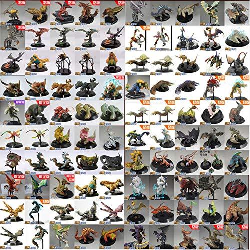 PampasSK Action & Toy Figures - Random 5 Japanese Anime Monster Hunter PVC Models Animal Dragon Action Figure Toys Best Boy Gift 1 ()