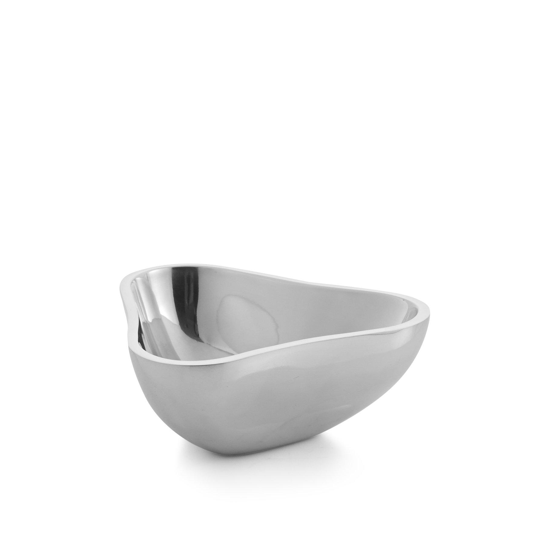 Nambé MT0929 Sixty-Five Tri Alloy Bowl, 6'', Silver