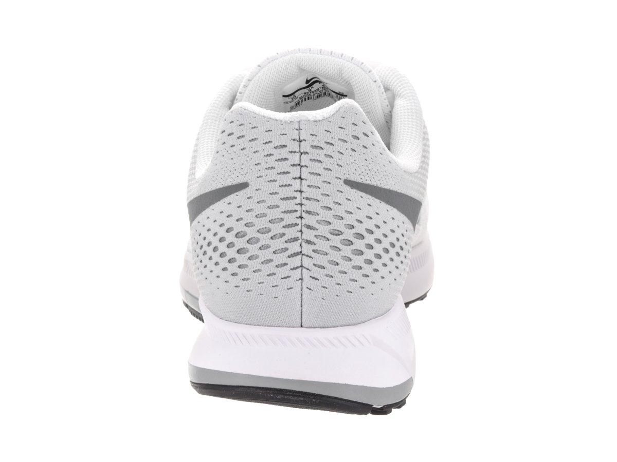 Nike Men's Air Zoom Pegasus 33 B01HD5BIPA 11.5 D(M) US|White/Pure Platinum/Black/Cool Grey