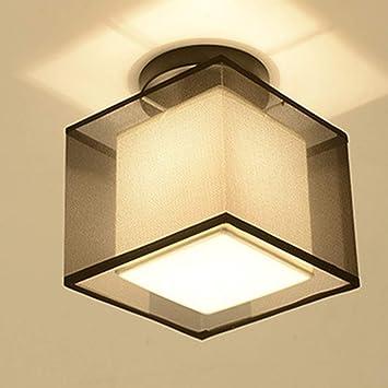 WOSOSYEYO Dormitorio Sala de Estar LED Luz de Techo Pasillo Luz Pasillo Lámpara