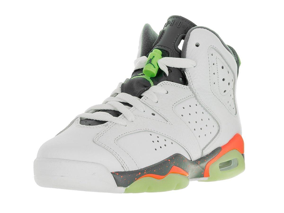 Blanc Cassé - blanc (blanc   Ghst vert-hst-brght Mng) Nike blanc Ghst vert-HST-Brght MNG, Chaussures de Basketball garçon 40 EU