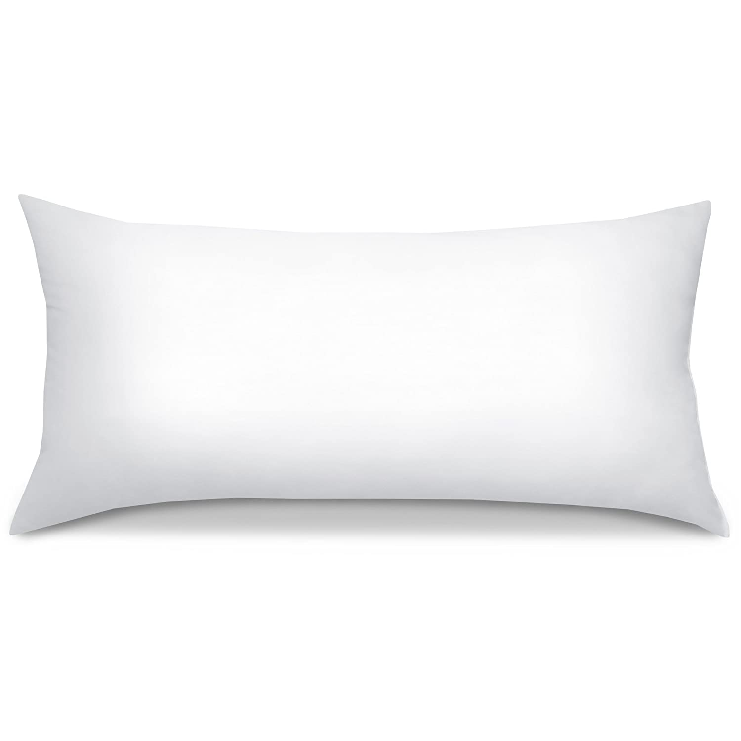Beautissu BeauNuit UK 2 Set Pillows 40x80 cm Washable Cushion 450 g Microfibre Padding - Inner Seam & Hypoallergenic