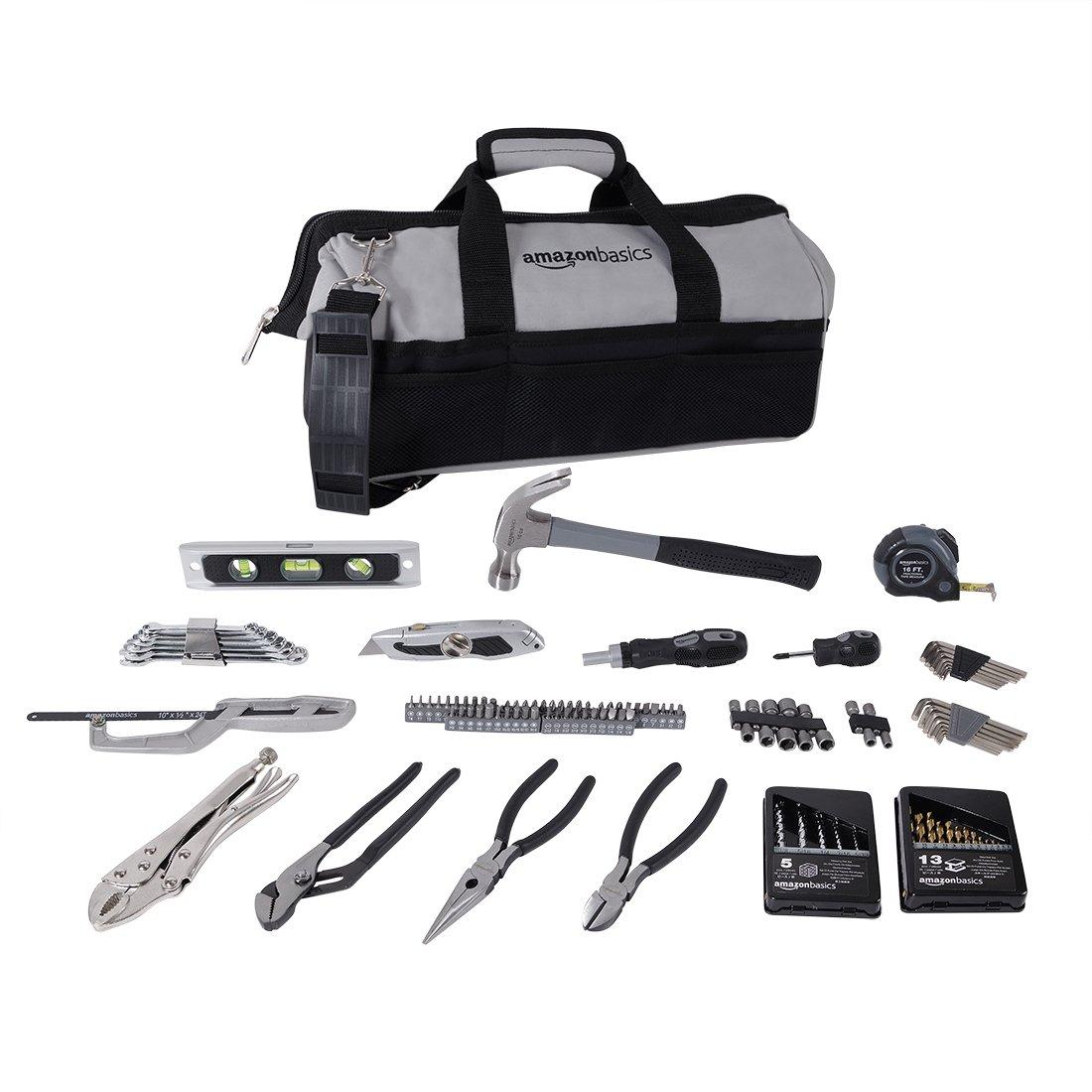 AmazonBasics 115-Piece Home Repair Kit by AmazonBasics (Image #1)