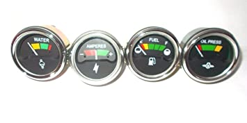 amazon massey ferguson 265 285 tractor gauges kit temp oil fuel Naa Ford Tractor Wiring Diagram massey ferguson 265 285 tractor gauges kit temp