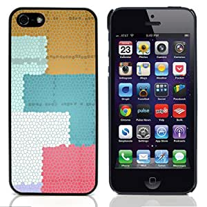 iKiki Design Hard Case for Apple iPhone 5 5S - Colorful Squares