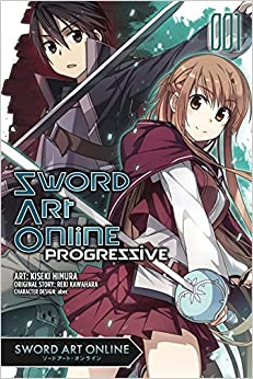 Sword art online progressive books