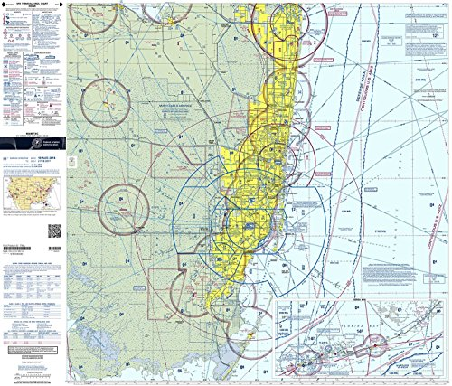 FAA Chart: VFR TAC MIAMI TMIA (Current Edition)