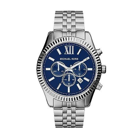 Michael Kors Men's Lexington Silver Tone Watch Mk8280 by Michael Kors