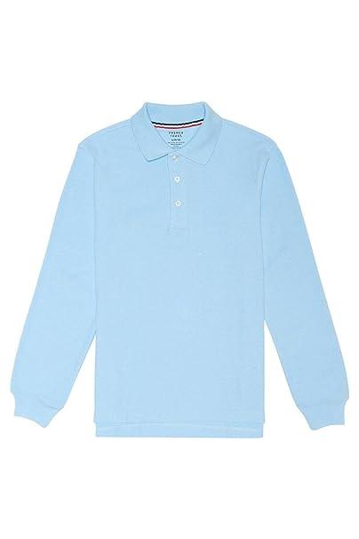 ba67ff6869 French Toast Boys' Long-Sleeve Pique Polo Shirt
