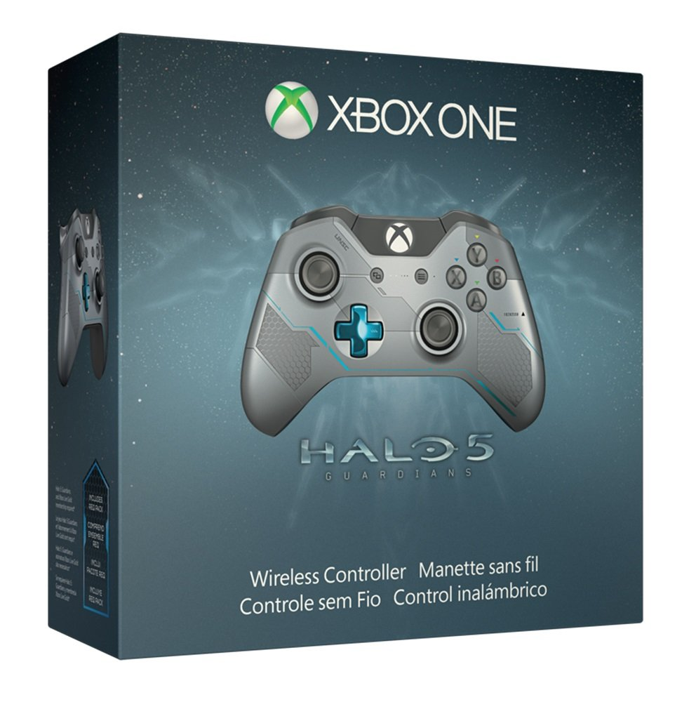 Xbox One Limited Edition Halo 5: Guardians Wireless Controller: Video Games